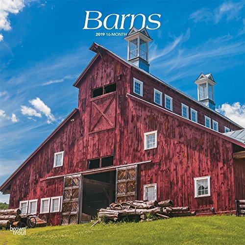 Barns - Scheunen 2019 - 18-Monatskalender: Original BrownTrout-Kalender por Inc. Browntrout Publishing