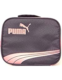 Puma - Little Girl's Lunch Tote Bag Grey/ Pink by PUMA