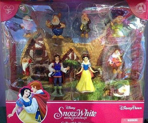Disney Parks Snow White Figurine Playset Play Set Cake Topper NEW 2013 by Disney