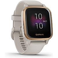 """Garmin Venu Sq Music – wasserdichte GPS-Fitness-Smartwatch mit Musikplayer, 1,3"""" Touchdisplay, Gesundheitstracker…"""