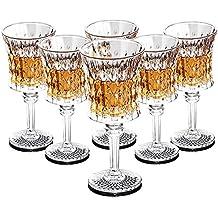 Copa de champán, Copa de vino tinto, Copa de whisky, 150 ML,