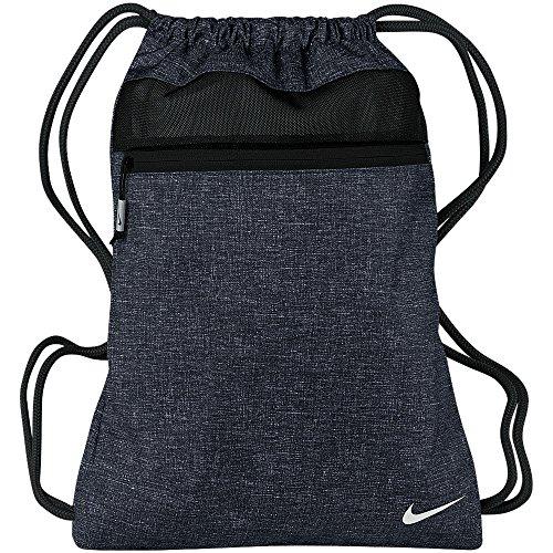 Nike Golf Sport III - Sac de gym à cordon (Taille unique) (Bleu tonnerre/Noir)