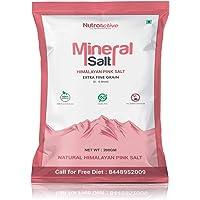 NutroActive Mineral Himalayan Pink Salt Extra Fine Grain, 0 -0.5 mm 200 gm