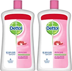 Dettol Skincare Liquid Soap Jar - 900 ml (Pack of 2)