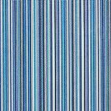 Fabulous Fabrics Markisen Outdoorstoff Sineu – blau — Meterware ab 0,5m — zum Nähen von Markisen, Outdoor-Deko und Kissen und Tagesdecken