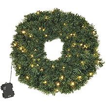 Trafo Karton Durchmesser 50 cm 612-60 30 warmwei/ß Pisello LED outdoor beleuchtet Star LED-TannenkranzCalgary