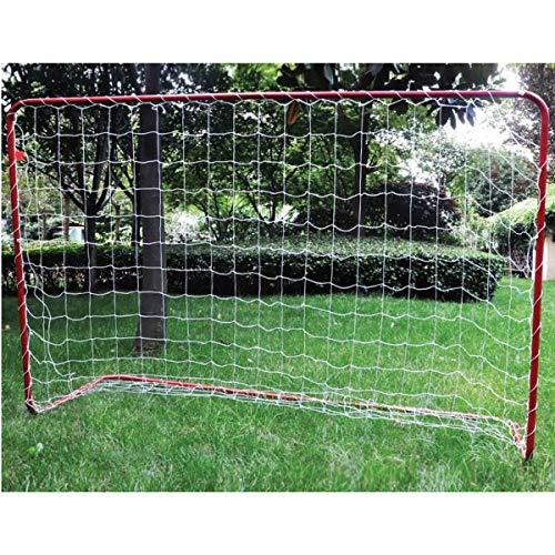 Brema Fussballtor mit Netz und Ball 180x120cm - Fußball aus PU-Material - Ideal für Kinder zwischen 5-12 Jahren - Auch für jeden großen Fan des Rasensports