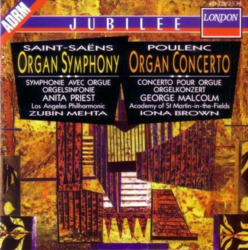 Saint-Saens - Symphony 3 Organ / Organ Concerto & Poulenc - Organ Concerto by George Malcolm - Organ Poulenc Concerto