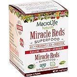 Macrolife Naturals Complément alimentaire en poudre Miracle Reds - Formule anti-âge à base de phytonutriments...