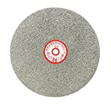 sourcingmap 200mm 8Zoll Splitt 46 Diamant beschichtet flach rundscheibe Rad Schleifenscheibe