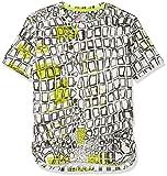 NOP Jungen T-Shirt B Tee Ss Lynden AOP, Mehrfarbig (Off White C010), 122