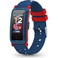 YoYoFit Fitness Armband Kinder Uhr mit Blutdruck, Fitness Tracker mit Pulsmesser und Blutsauerstoff, Schlafmonitor…