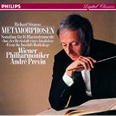 Strauss, R.: Metamorphosen; Sonatina No.1 for Winds
