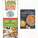 vegan richa's indian kitchen,vegan cookbook for beginners and lose weight for good: the diet bible 3 books collection set - new vegan diet essential recipes,101 lasting weight loss ideas