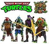 4pcs TMNT Teenage Mutant Ninja Turtles Action Figures Set