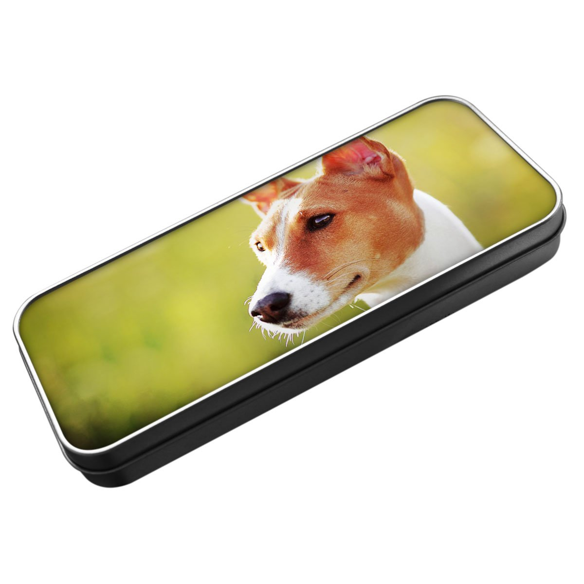 Basenji Dog Pencil Tin 008