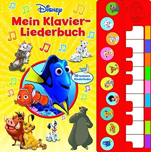 Disney Mit Kleinkindern - Mein Klavier-Liederbuch - Disney Liederbuch mit