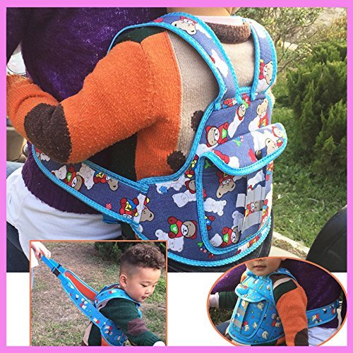 Woogor Baby Child Motorcycle Bike Bicycle Seat Safety Carrier Baby Dinning Chair Protection Safety Walking Leash Backpack Belt Strap Random Color