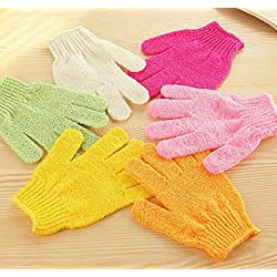 Amigozz Bath Glove, 1 Pair, Random Colors