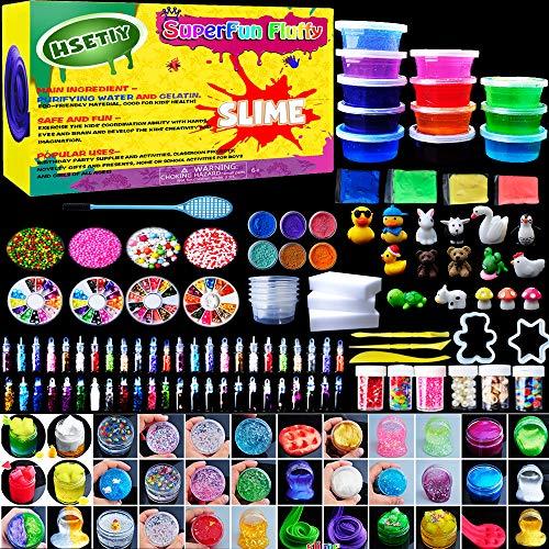 HSETIY Super Slime Set - Bolas Coloridas de Espuma de Limo y...