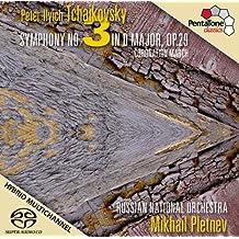 Tchaikovsky: Sinfonia Nº 3, Marcha De La Coronacion / Russian National Orchestra - Pletnev
