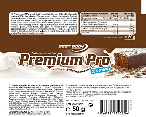 Best Body Nutrition 35% Delicate Premium Pro Bar