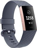 اجهزة تتبع اللياقة البدنية المتقدمة مع معدل ضربات القلب وتتبع السباحة وبطارية 7 أيام من فيتبت تشارج 3, Free Size