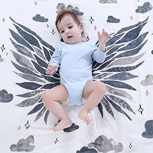 vivian-cute-angel-wings-design-muslin-cotton-baby-bath-towel-swaddle-blanket