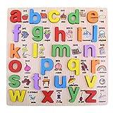 Newin Star 1pc Puzzle Classici in Legno - Alfabeto minuscolo