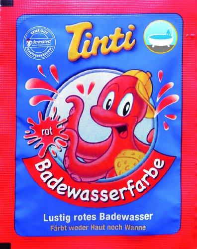 Tinti Couleurs pour le Bain Rouge Individuels