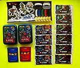 Lego Ninjago TCG Ninjago 10 Booster = 50 Karten + 2 leere Mini Tin Dosen + Hüllen + Movie Aufkleber