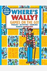Where's Wally? Games on the Go! Puzzles, Activities & Searches Paperback