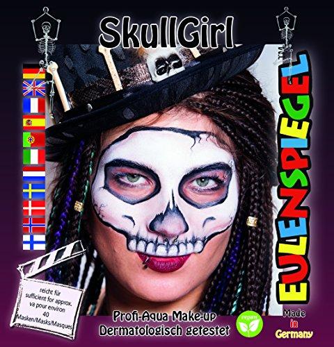 Eulenspiegel Motiv Set Skull Girls