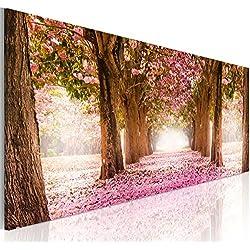 murando - Cuadro en Lienzo 135x45 cm - Flores - Impresion en calidad fotografica - Cuadro en lienzo - Naturaleza c-A-0052-b-b