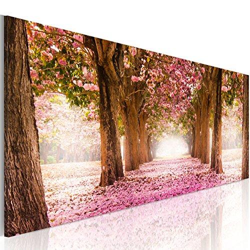 Murando   Cuadro Bosque Flores 120x40 cm 1 parte impresión