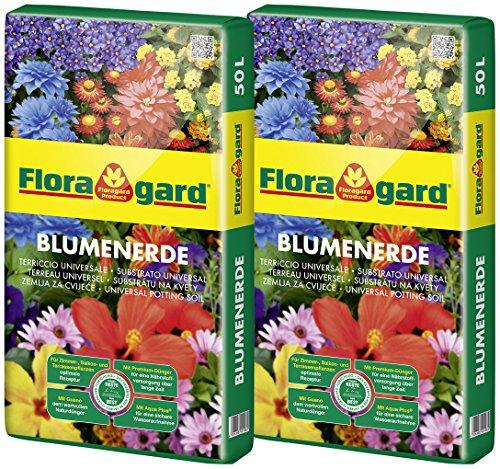 Floragard Blumenerde 100 L (2 x 50 Liter)