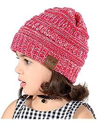 Enfants Chapeau Tricot Casquette Enfants Chapeau Hiver Bonnet Automne  Tricot Chapeau Chaud bébé Garçons Filles 74569942700