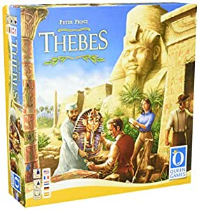 """Queen Games 60461 """"Thebes Multilingual"""" Game"""