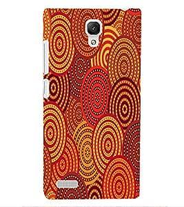 ColourCraft Pattern Design Back Case Cover for XIAOMI REDMI NOTE 4G
