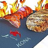 Kona XL Tapis de Grille Grill pour Barbecue et Four Liner–Couvertures de Tapis...