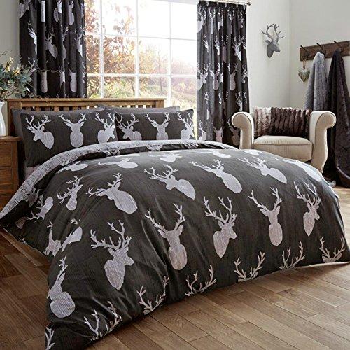 just-contempo-confezione-da-3-pezzi-copripiumino-di-cervo-doppio-colore-beige-nero-king
