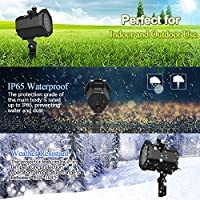 Christmas Projector Lights, InnooLight Waterproof 15 Patterns Light Show, Holiday Lights Decoration for 5 Different Themes- Halloween, Christmas, Birthday, Valentine's Day, Easter, Carnival from Innoo Tech