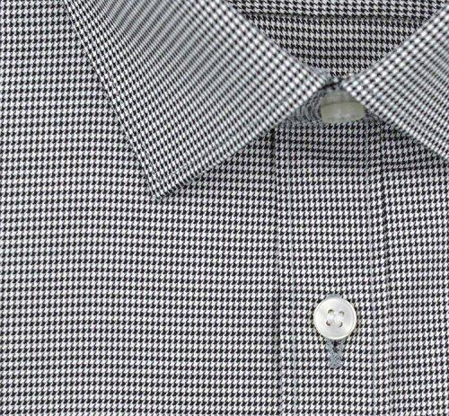 Olymp Herren Hemd No. 6 Super Slim Fit Langarm Schwarz