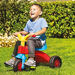 Dolu Niños Niños Pequeños mi Primer Pedaltrike Bicicleta, Moto, Triciclo Roller Conducir.