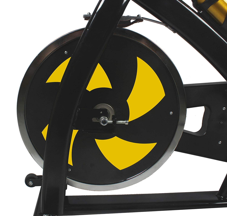 61z28s0ZbxL - Nero Sports Upright Exercise Bike Indoor Studio Cycles Aerobic Training Fitness Cardio Bike