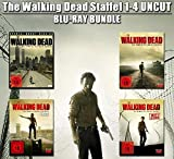 The Walking Dead - Staffel 1-4 (Extended/Uncut) [Blu-ray]