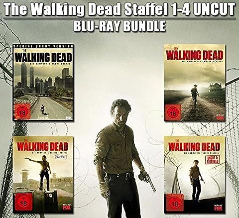 The Walking Dead Staffel 1-4 - Deutsch komplett Uncut / Extended Version - Blu-ray (Staffel 4 Walking Dead)