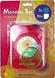 Spiegelburg Juego de Mandala para Colorear y Dibujar (Rosa)