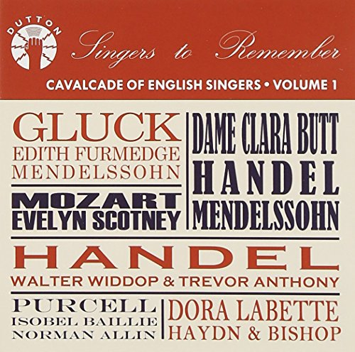 Cavalcade of English Sing [Import allemand]