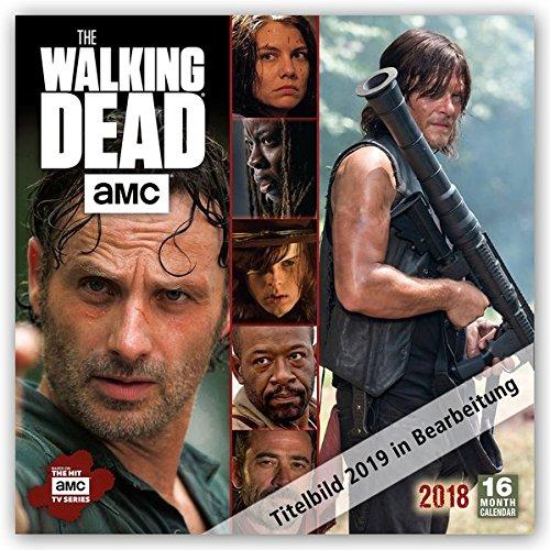 The Walking Dead 2019 - 18-Monatskalender (Wall-Kalender)